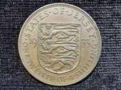 Jersey, George V, 1/12th Shilling 1933, VF, WB7630